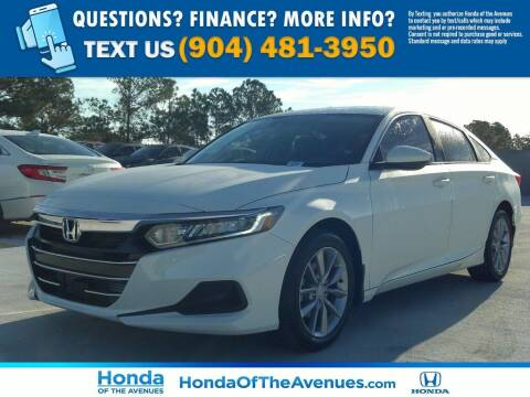 2021 Honda Accord for sale at Honda of The Avenues in Jacksonville FL