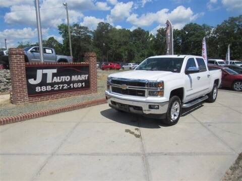 2014 Chevrolet Silverado 1500 for sale at J T Auto Group in Sanford NC
