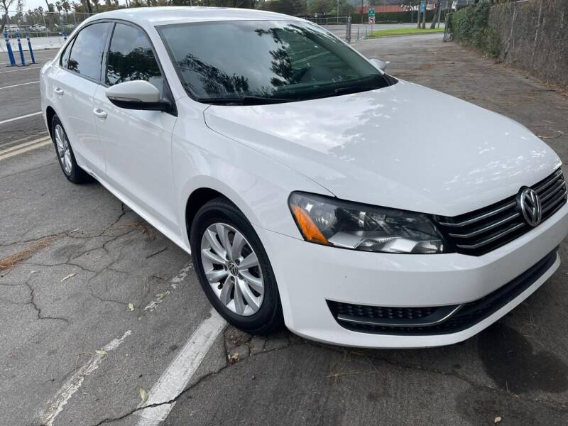 2012 Volkswagen Passat for sale at E and M Auto Sales in Bloomington CA