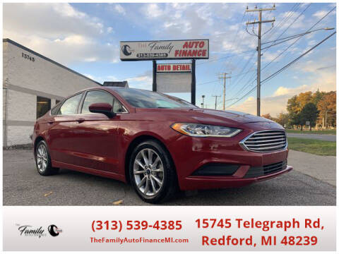2017 Ford Fusion Hybrid for sale at The Family Auto Finance in Redford MI