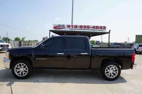 2012 Chevrolet Silverado 1500 for sale at Ratts Auto Sales in Collinsville OK
