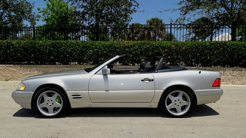 1998 Mercedes-Benz SL-Class for sale at Premier Luxury Cars in Oakland Park FL