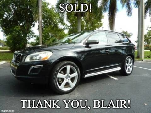 2012 Volvo XC60 for sale at VehicleVille in Fort Lauderdale FL