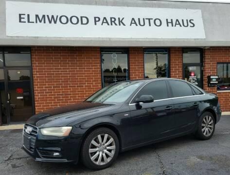 2013 Audi A4 for sale at Elmwood Park Auto Haus in Elmwood Park IL