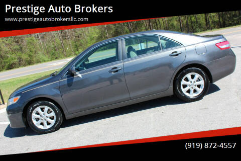 2011 Toyota Camry for sale at Prestige Auto Brokers in Raleigh NC