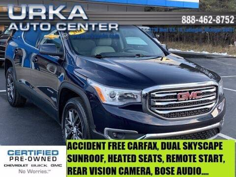 2017 GMC Acadia for sale at Urka Auto Center in Ludington MI