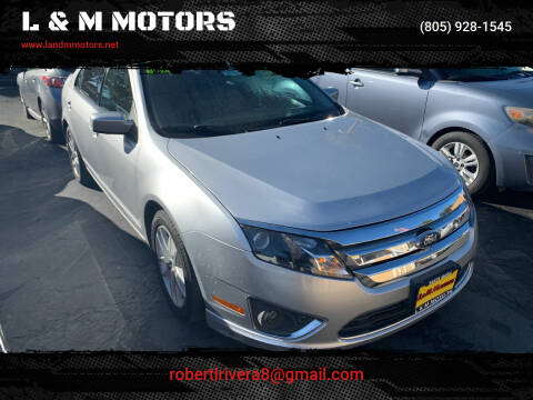 2012 Ford Fusion for sale at L & M MOTORS in Santa Maria CA