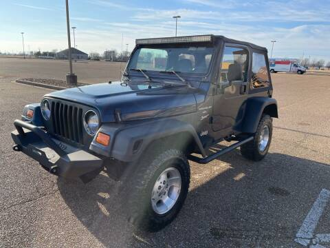2000 Jeep Wrangler for sale at The Auto Toy Store in Robinsonville MS
