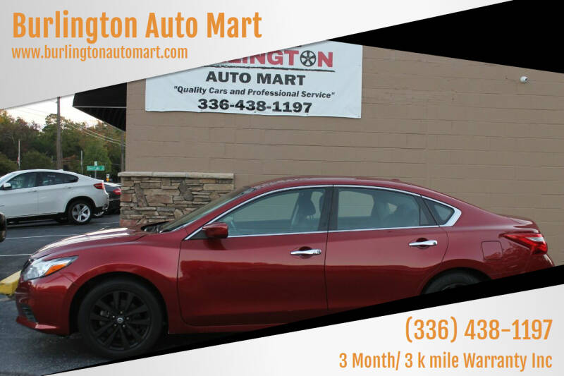 2017 Nissan Altima for sale at Burlington Auto Mart in Burlington NC