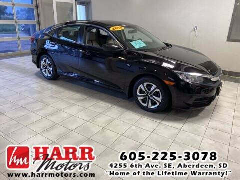 2018 Honda Civic for sale at Harr's Redfield Ford in Redfield SD