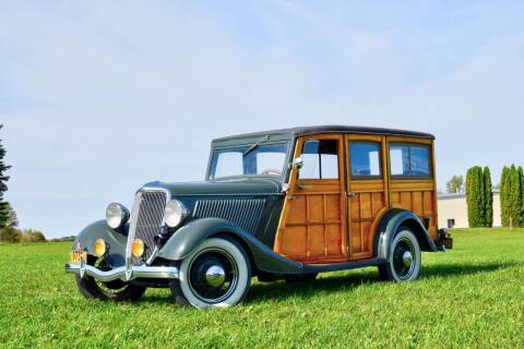 1934 Ford Woody for sale at Hooked On Classics in Watertown MN