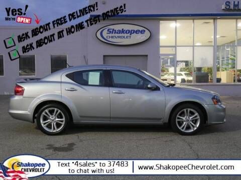 2014 Dodge Avenger for sale at SHAKOPEE CHEVROLET in Shakopee MN