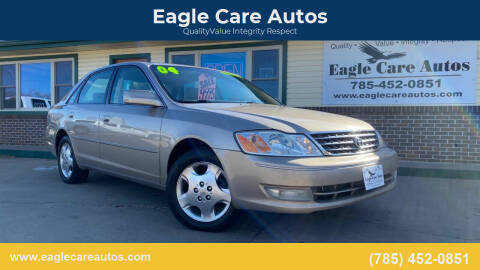2004 Toyota Avalon for sale at Eagle Care Autos in Mcpherson KS