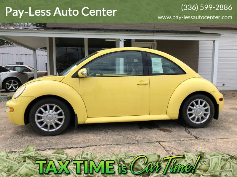 2005 Volkswagen New Beetle for sale at Pay-Less Auto Center-Burlington Road in Roxboro NC