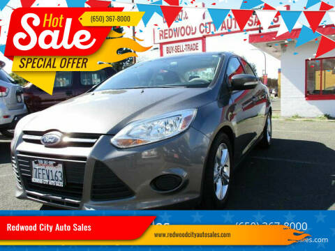 2014 Ford Focus for sale at Redwood City Auto Sales in Redwood City CA