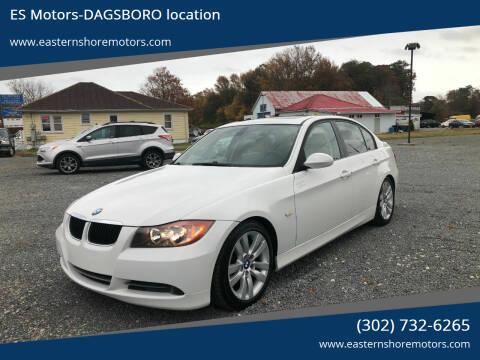 2008 BMW 3 Series for sale at ES Motors-DAGSBORO location in Dagsboro DE