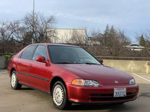 1995 Honda Civic for sale at AutoAffari LLC in Sacramento CA