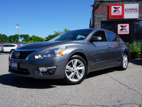 2014 Nissan Altima for sale at AutoCredit SuperStore in Lowell MA