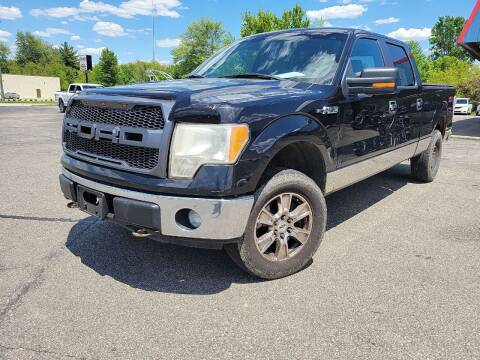2014 Ford F-150 for sale at Cruisin' Auto Sales in Madison IN