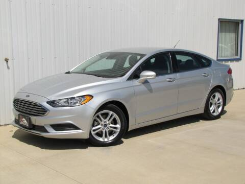 2018 Ford Fusion for sale at Lyman Auto in Griswold IA