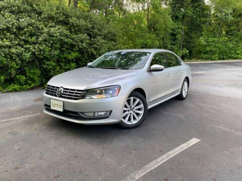2012 Volkswagen Passat for sale at Uniworld Auto Sales LLC. in Greensboro NC