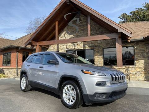 2017 Jeep Cherokee for sale at Auto Solutions in Maryville TN