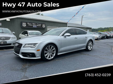 2012 Audi A7 for sale at Hwy 47 Auto Sales in Saint Francis MN