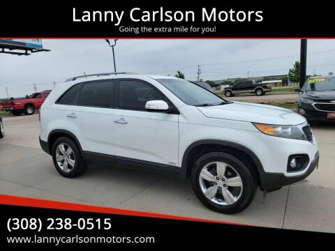 2012 Kia Sorento for sale at Lanny Carlson Motors in Kearney NE