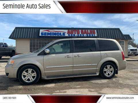 2008 Dodge Grand Caravan for sale at Seminole Auto Sales in Seminole OK