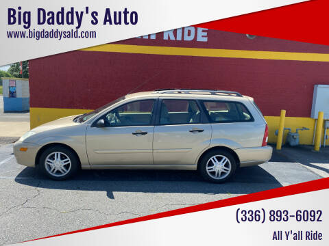 2001 Ford Focus for sale at Big Daddy's Auto in Winston-Salem NC