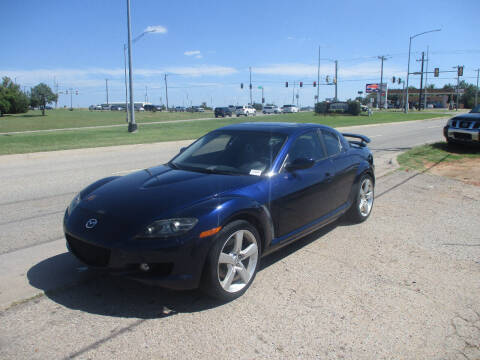 2008 Mazda RX-8 for sale at BUZZZ MOTORS in Moore OK