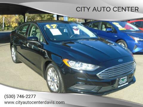 2017 Ford Fusion for sale at City Auto Center in Davis CA