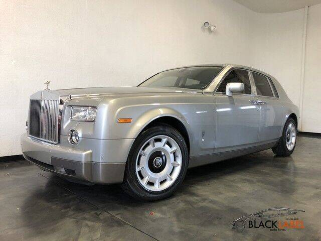 2004 Rolls-Royce Phantom for sale at BLACK LABEL AUTO FIRM in Riverside CA