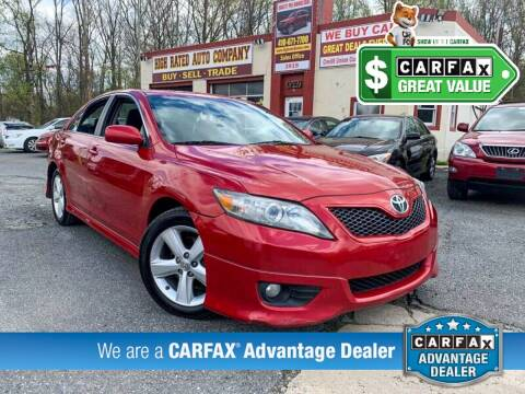 2010 Toyota Camry for sale at High Rated Auto Company in Abingdon MD