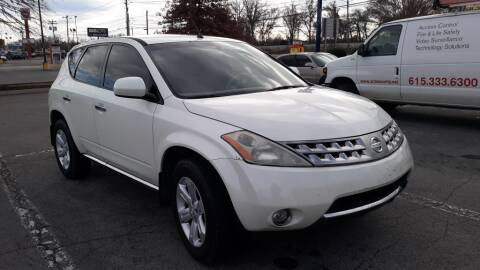 2007 Nissan Murano for sale at 1A Auto Mart Inc in Smyrna TN