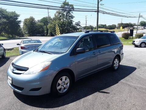 2008 Toyota Sienna for sale at CAR FINDERS OF MARYLAND LLC in Eldersburg MD