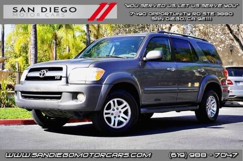 2005 Toyota Sequoia for sale at San Diego Motor Cars LLC in San Diego CA