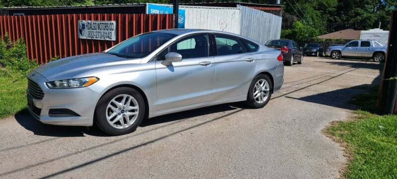 2014 Ford Fusion for sale at Hidalgo Motors Co in Houston TX
