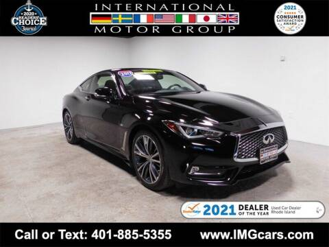2017 Infiniti Q60 for sale at International Motor Group in Warwick RI