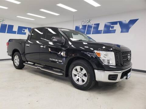 2019 Nissan Titan for sale at HILEY MAZDA VOLKSWAGEN of ARLINGTON in Arlington TX