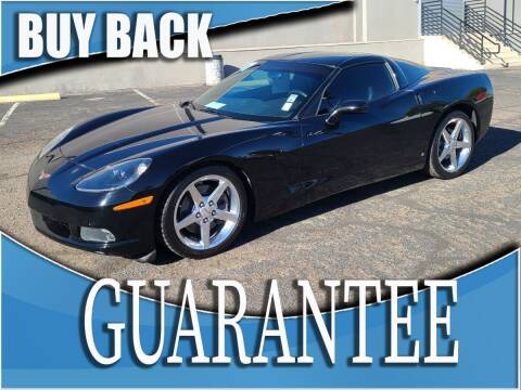 2007 Chevrolet Corvette for sale at Reliable Auto Sales in Las Vegas NV