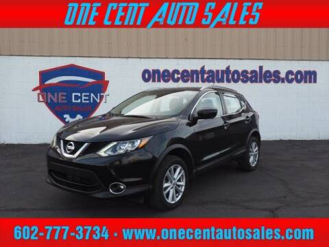2017 Nissan Rogue Sport for sale at One Cent Auto Sales in Glendale AZ