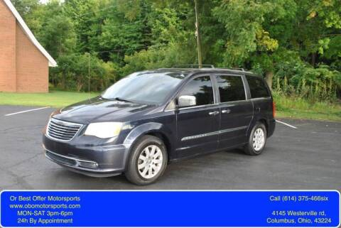 2011 Chrysler Town and Country for sale at Or Best Offer Motorsports in Columbus OH