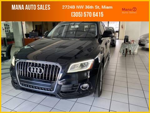 2015 Audi Q5 for sale at MANA AUTO SALES in Miami FL