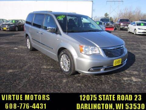 2014 Chrysler Town and Country for sale at Virtue Motors in Darlington WI