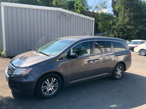 2012 Honda Odyssey for sale at Fellini Auto Sales & Service LLC in Pittsburgh PA
