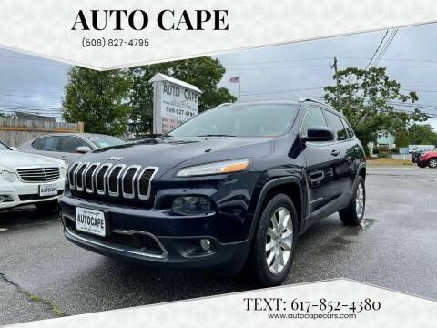 2015 Jeep Cherokee for sale at Auto Cape in Hyannis MA