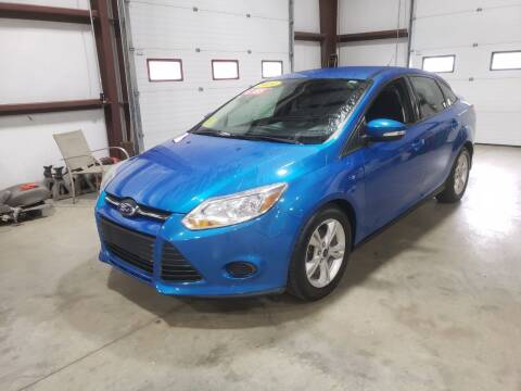 2014 Ford Focus for sale at Hometown Automotive Service & Sales in Holliston MA