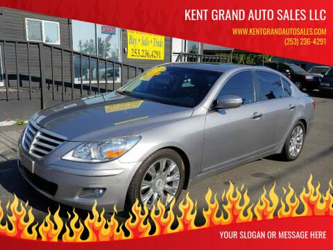 2009 Hyundai Genesis for sale at KENT GRAND AUTO SALES LLC in Kent WA