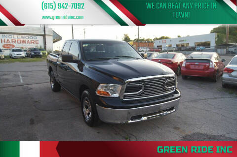 2011 RAM Ram Pickup 1500 for sale at Green Ride Inc in Nashville TN